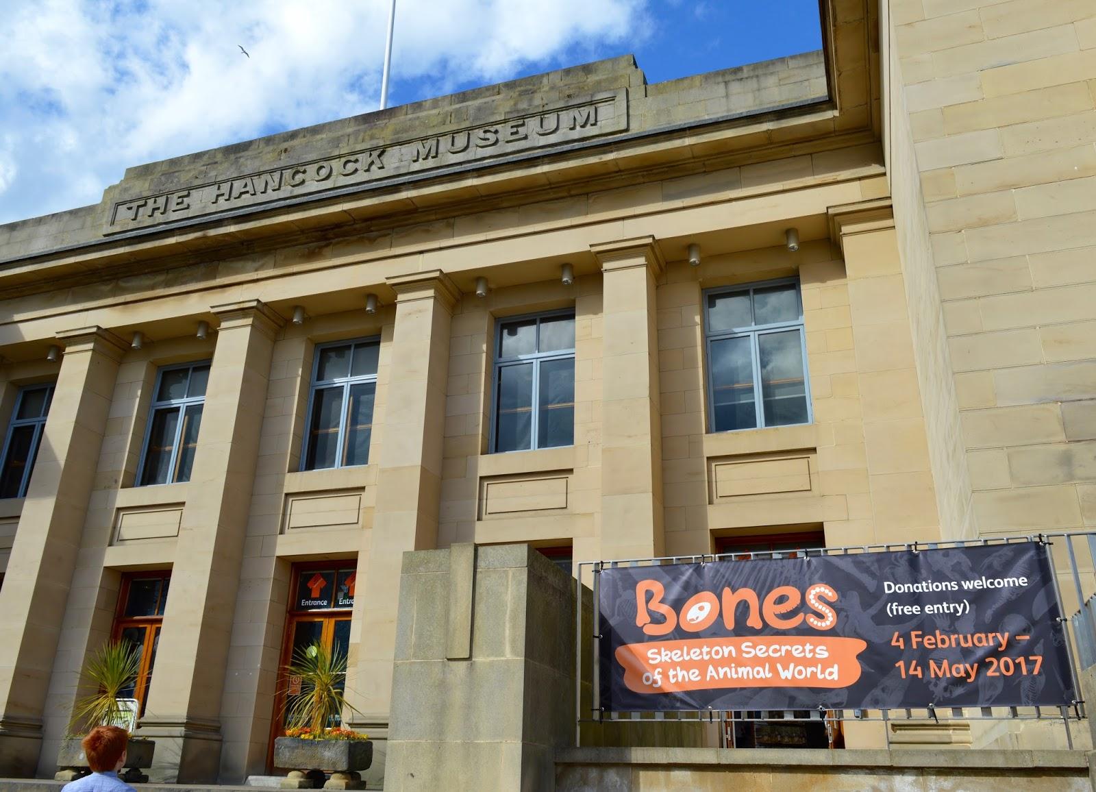 Bones Exhibition at Hancock Museum, Newcastle | Exterior