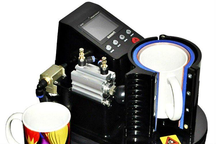 Bu kupa baskı makinesi sayesinde sublimasyon baskılarınızda mükemmel işler çıkarabilirsiniz.