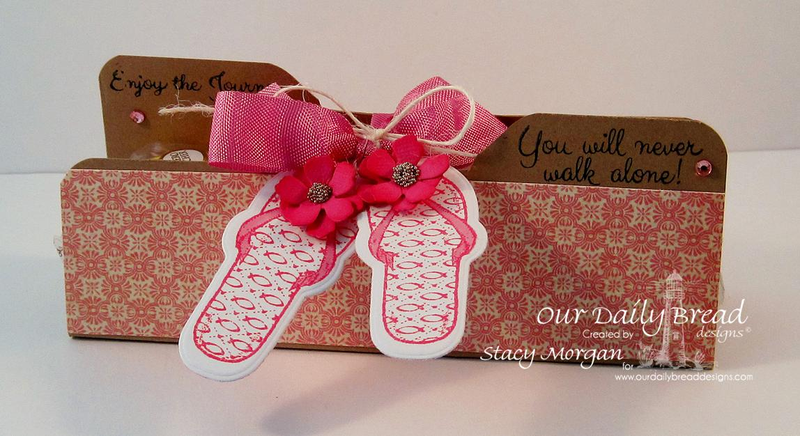 Stamps - Our Daily Bread Designs Walk with Jesus, ODBD Custom Flip Flop Dies, ODBD Blushing Rose Paper Collection