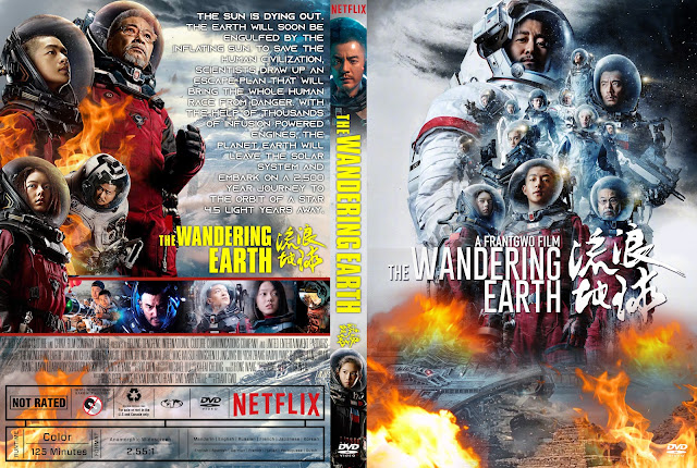 The Wandering Earth Dvd Cover