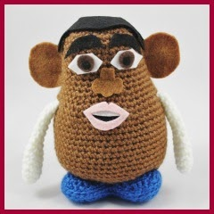 DISTINTOS MR. POTATOE AMIGURUMI