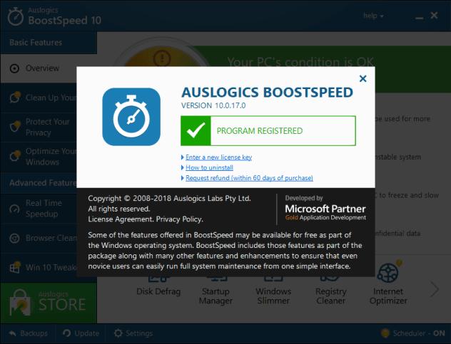 Download Auslogics BoostSpeed 10.0.17.0 Crack