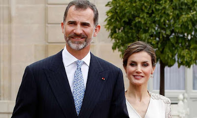 Current King of Spain is Felipe VI, and his wife Letizia Ortiz Rocasolano is the current Queen of Spain.