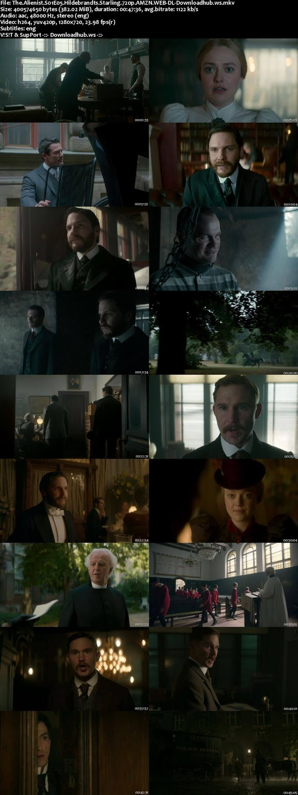 The Alienist S01E05 380MB Web-DL 720p ESubs