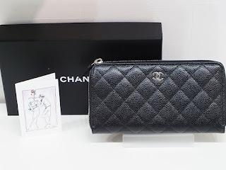 シャネルの長財布のご紹介です 品番A50097 新品の状態で買取します