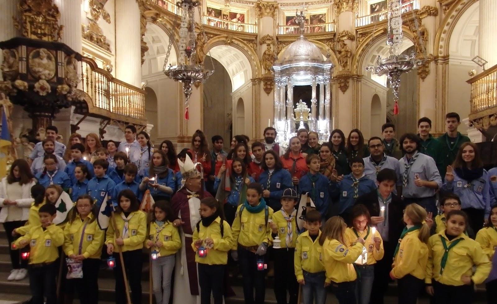 Blog scout de antonio alaminos la catedral de granada se - Santa ana atarfe ...
