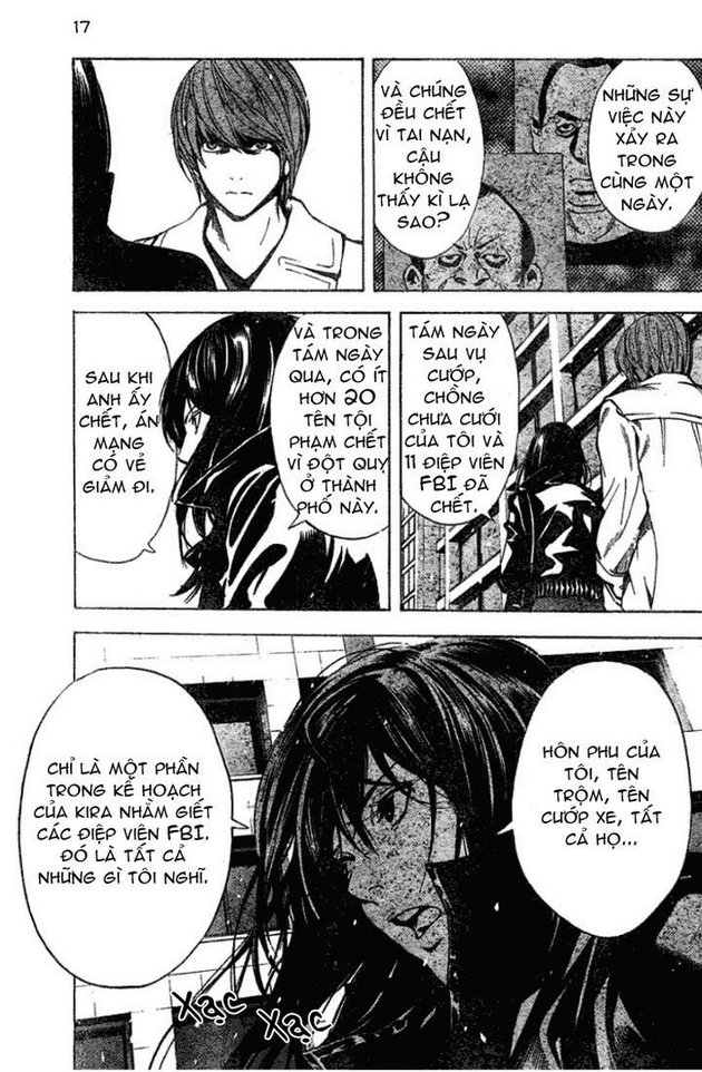 Death Note chapter 012 trang 18