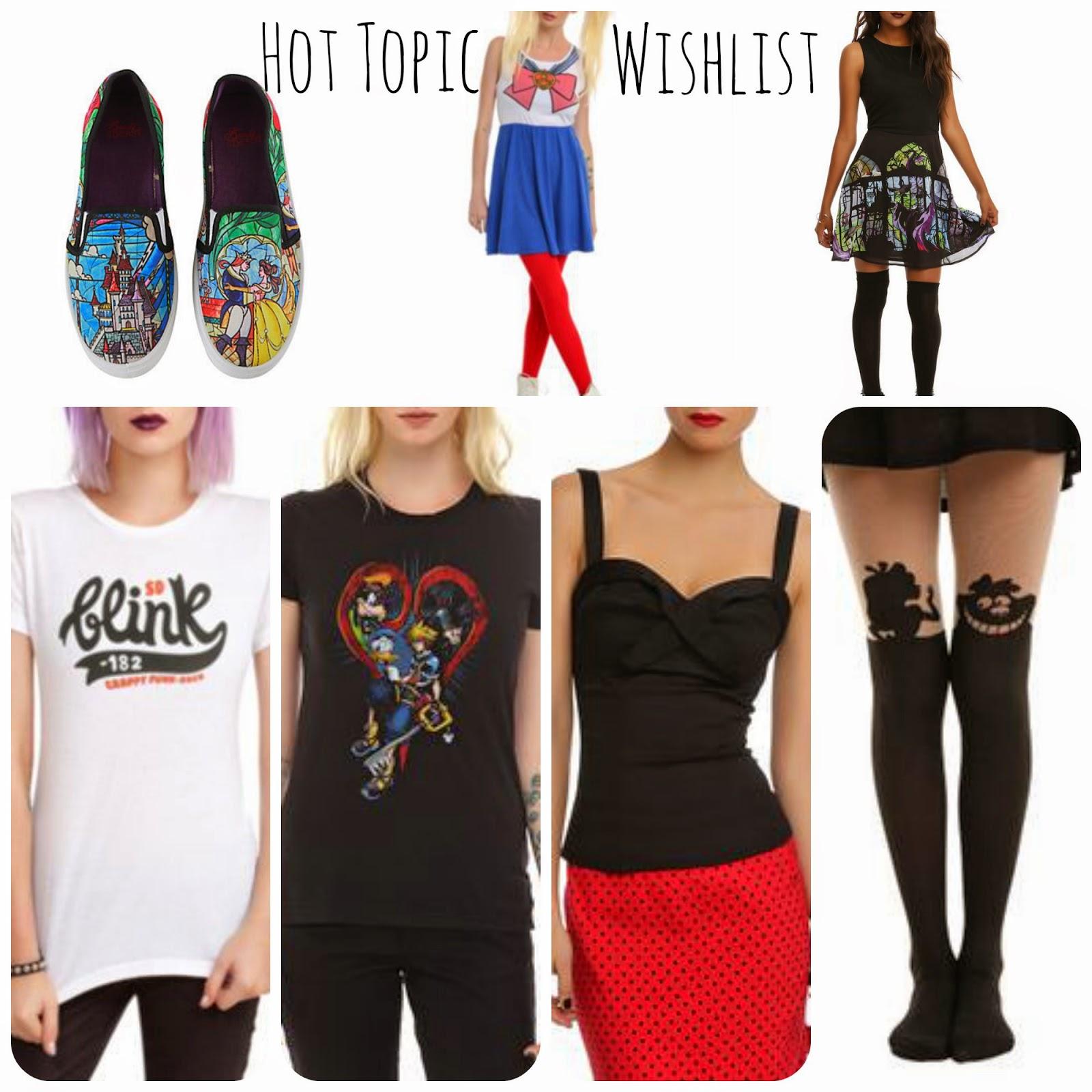 Hot Topic Alternative Wish List