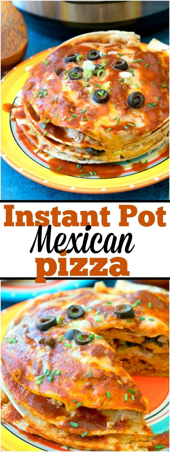 Instant Pot Mexican Pizza