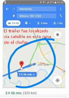 Piden ayuda para localizar a trailero desaparecido en Carretera Cardel-Veracruz