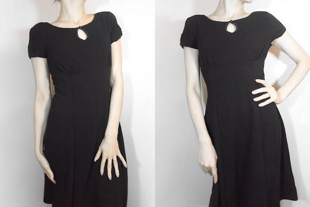 little black dress classic vintage retro ootd fashion liz breygel