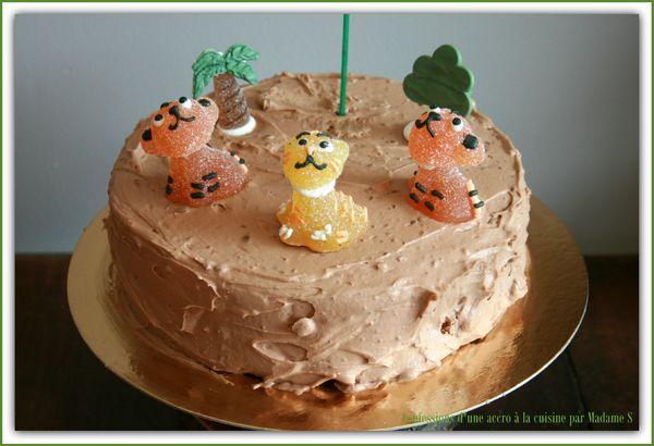 gâteau d'anniversaire Philadelphia chocolat lait
