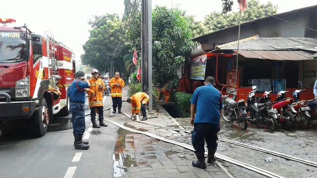 Pasca Geruduk Radar Bogor, Posko PDIP Mengalami Bencana Ini