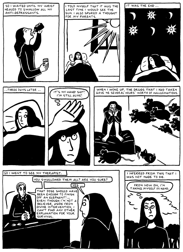 Read Chapter 12 - Skiing, page 119, from Marjane Satrapi's Persepolis 2 - The Story of a Return