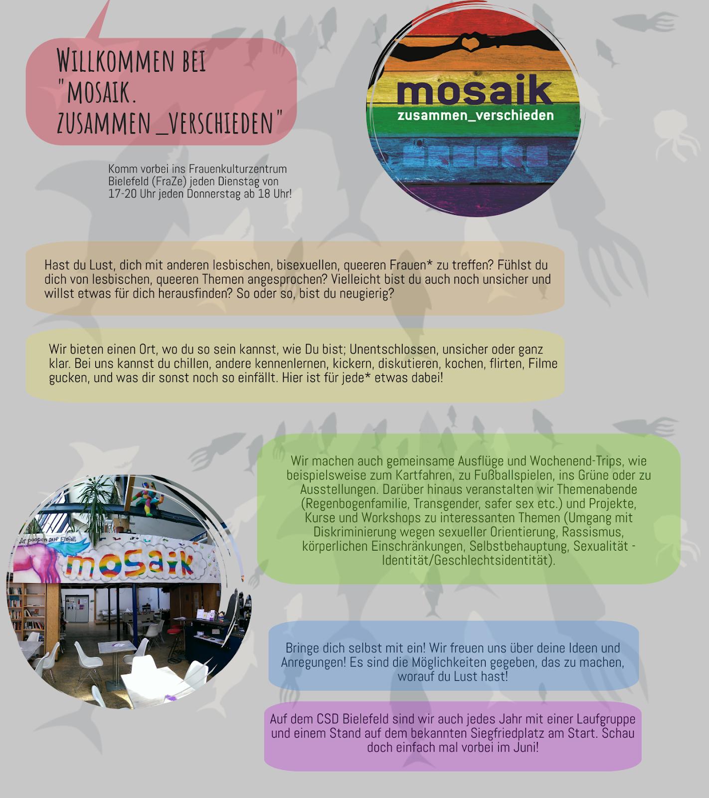 Mosaik Treff: zusammen_verschieden