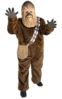 COSTUM STAR WARS CHEWBACCA DELUX