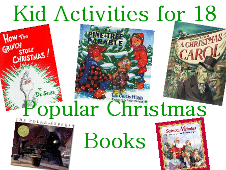 Activities to Go with Popular Christmas Books