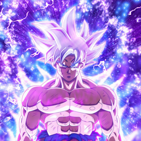 DragonBall Goku Ultra Instinct Wallpaper Engine