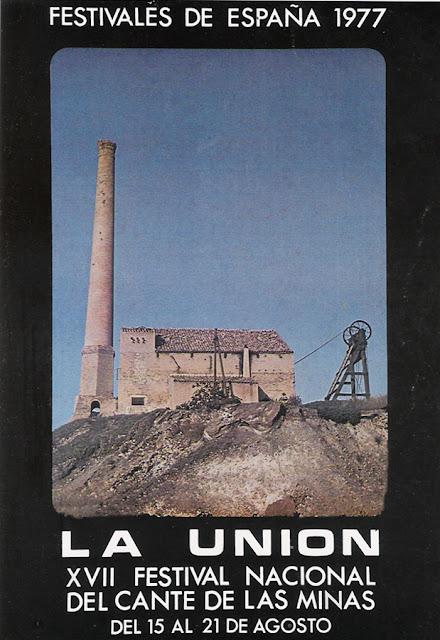 Cartel del Cante de las Minas de 1977