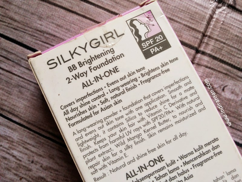 Silky Girl BB Brightening 2 Way Foundation