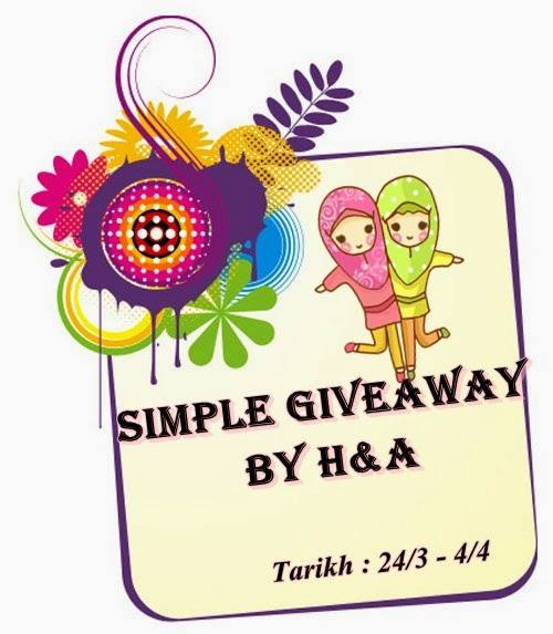 """Simple Giveaway by H&A''"