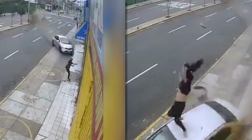 lima-peru-car-accident-woman-car