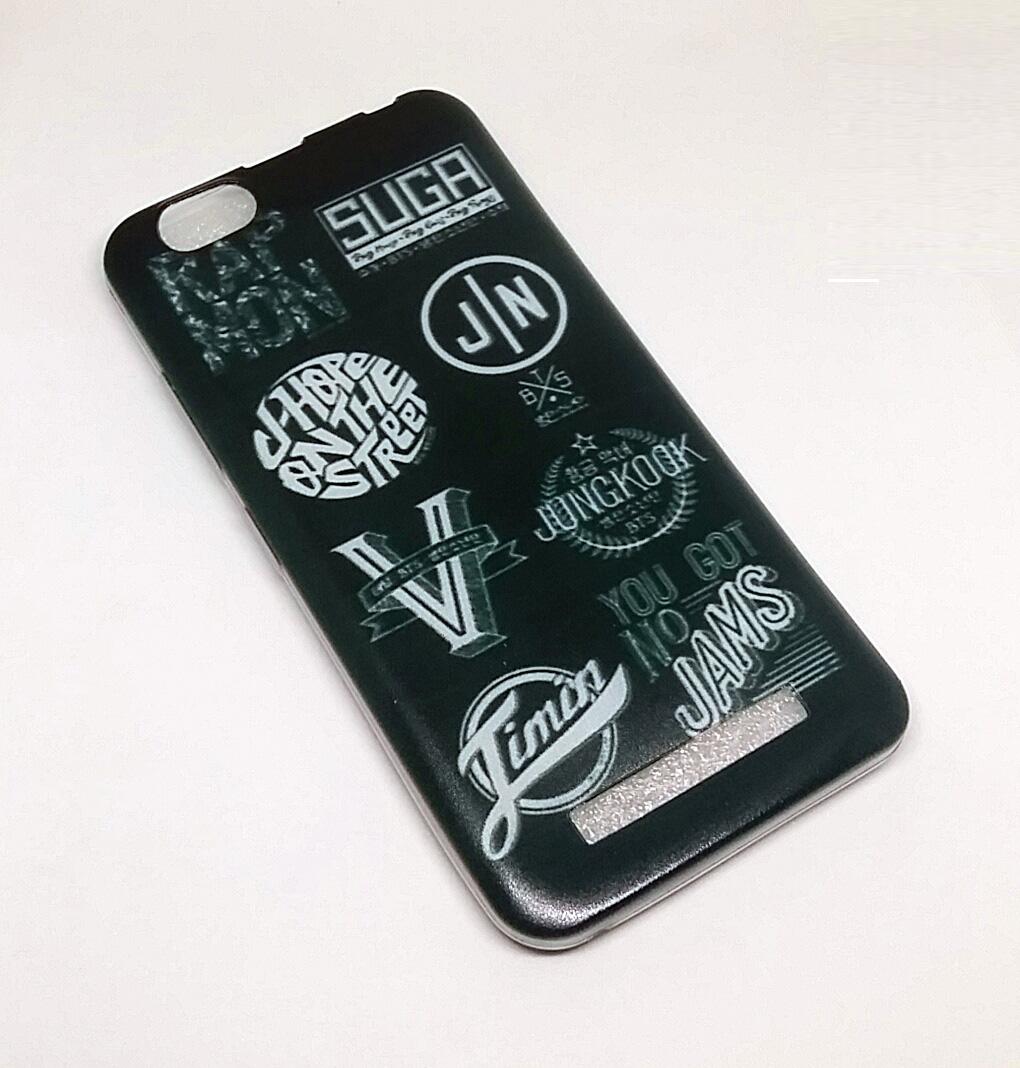 custom case gambar BTS