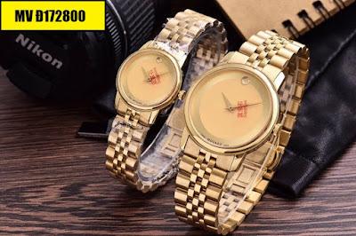 Đồng hồ đeo tay Movado Đ172800 sợi dây kết nối tình yêu của hai người