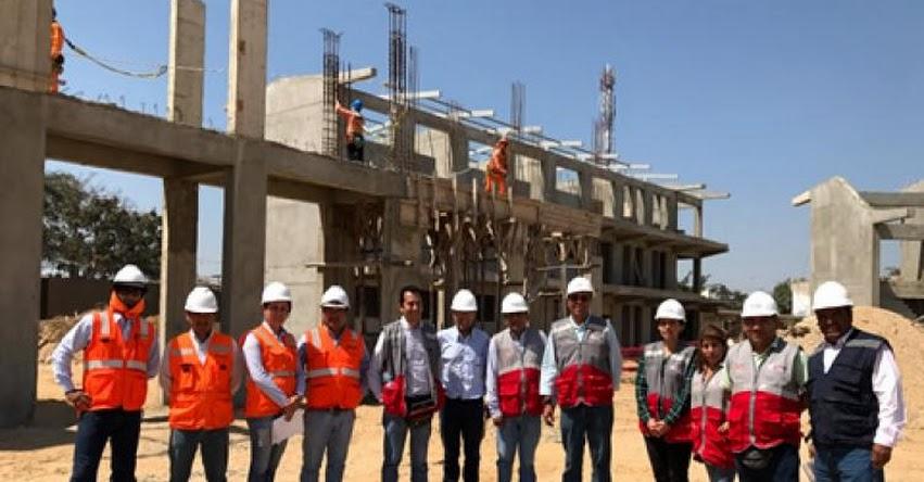 MINEDU inicia en Piura inspección de infraestructura de instituciones educativas - www.minedu.gob.pe