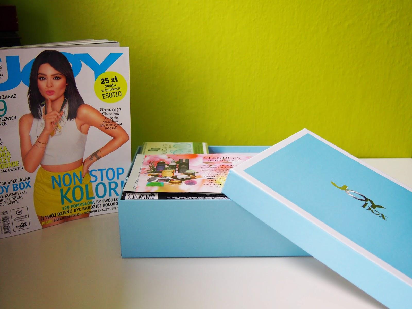 Joy Box- Pudełko pełne kosmetyków najnowsza edycja de luxe