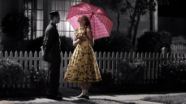 Personnages amoureux dans Pleasantville, de Gary Ross (1998)