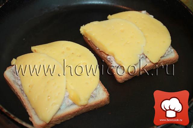 рецепт сэндвича с тунцом пошаговые фото