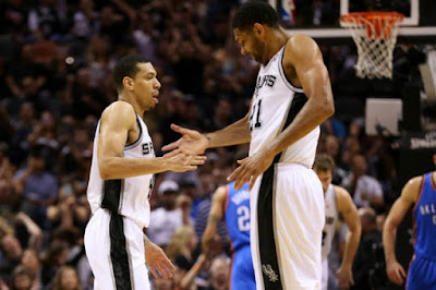 NBA : Thunder Host Spurs in Game 3 of Western Semifinals