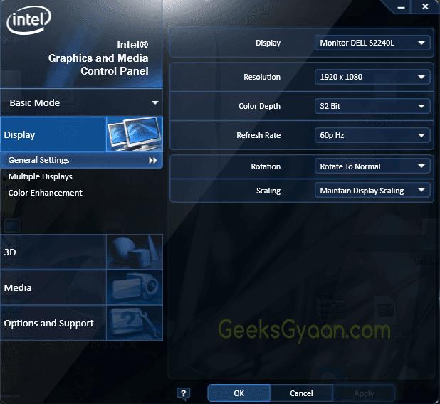 Increase Intel HD Graphics Dedicated Video Memory