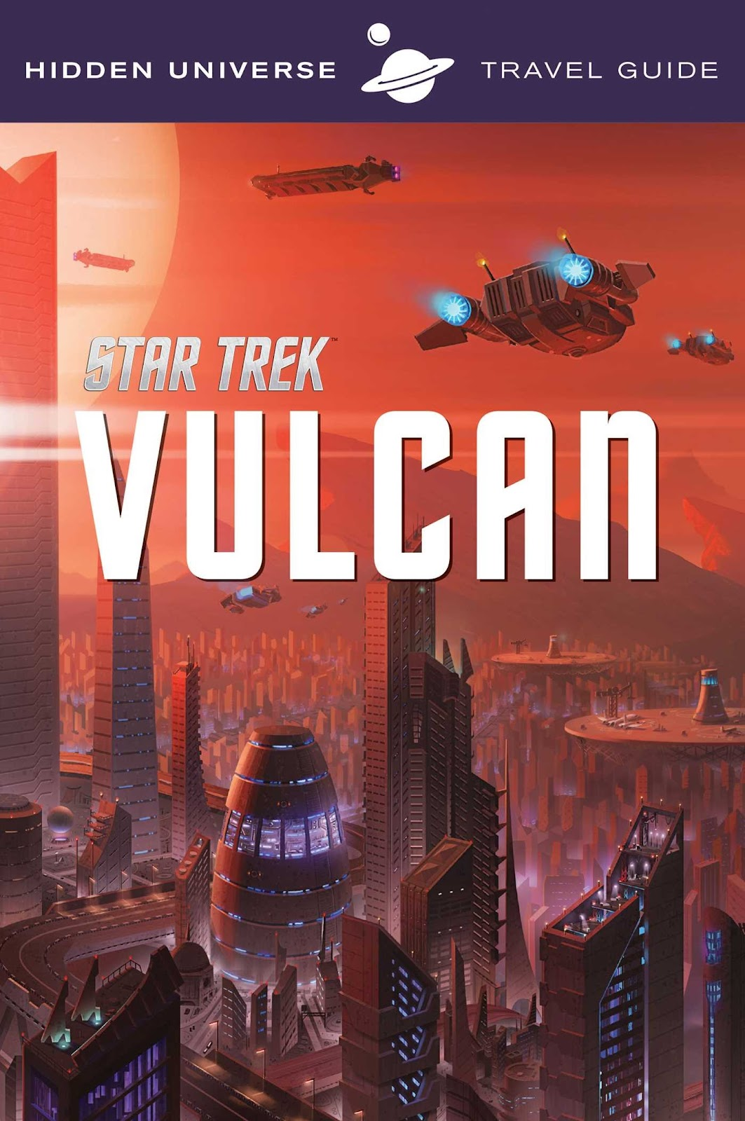 the trek collective  vulcan travel guide cover and preview