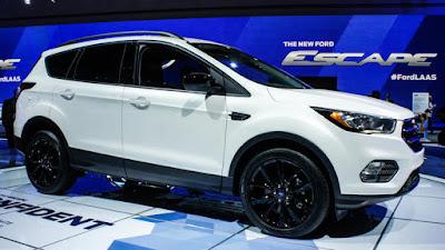 Ford escape white