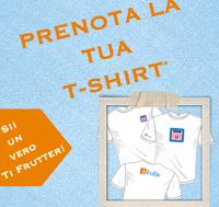 Logo Ti Frutta: richiedi gratis l'esclusiva t-shirt