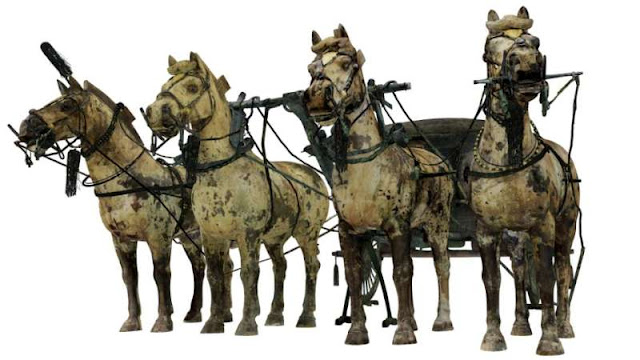 3D method used to create full picture of ancient bronze carriage