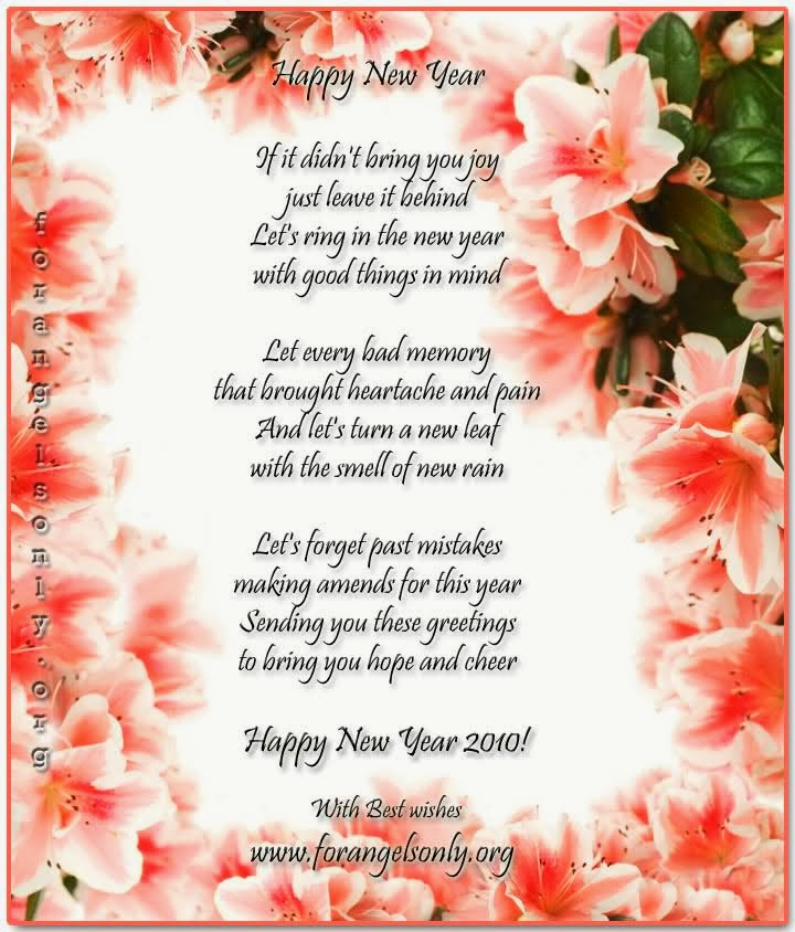 New Year 2014 Wishes Poems Poetry Collection ~ Happy New ...