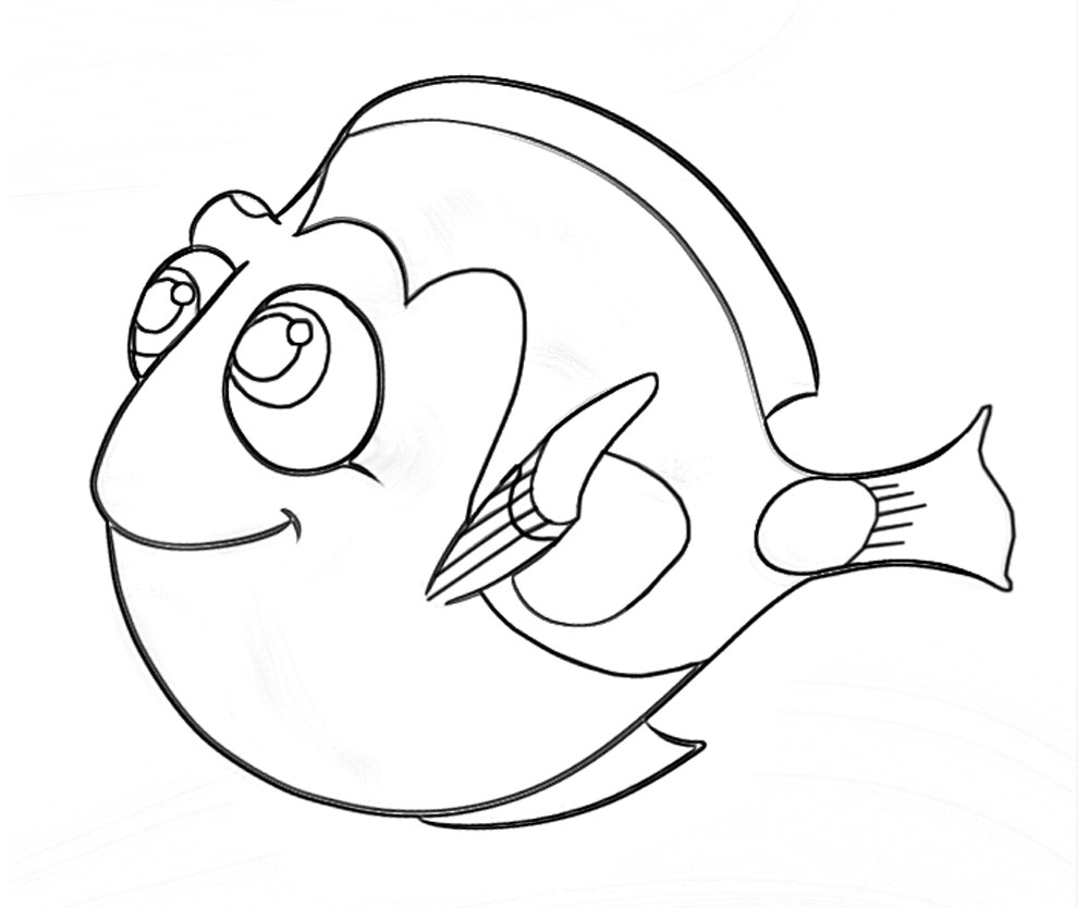 10 top finding dory printable coloring pages yumiko fujiwara for Finding dory coloring pages