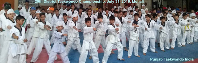 20th Dist Taekwondo Championship, Mohali July 31, 2016, Chandigarh, Punjab, India, Martial art Tkd Training, Coaching Classes, Clubs, Centers, Mix, Self-defence, fitness, games, Sports, Olympics, Chief Instructor Master Er. Satpal Singh Rehal, kot maira, Garhshankar, Hoshiarpur, Jalandhar, Patiala, Moga, Amritsar, Tarn-taran, Bathinda, Sangrur, Mansa, ropar, Ajitgarh affiliations