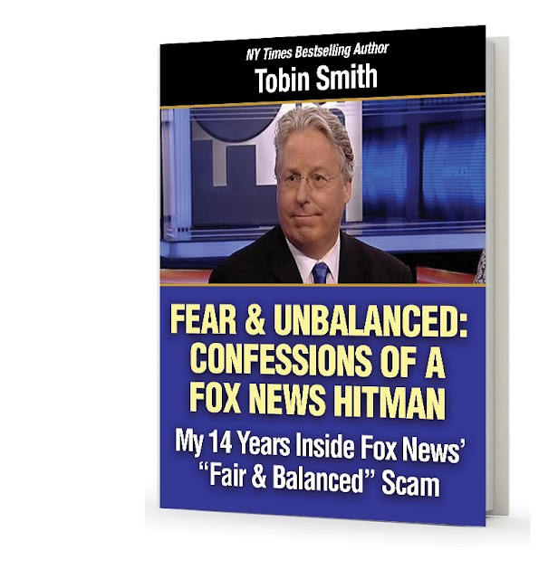 """Fair & Unbalanced: Confessions of a Fox News Hitman"" - Book cover"