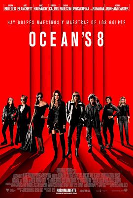 OCEAN'S 8  - Cartel españa