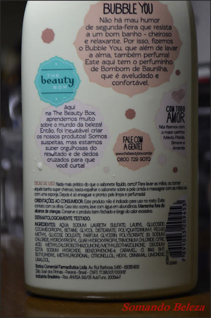 Somando Beleza, Neiva Marins, The Beauty Box, Bubble You Bombom de Baunilha