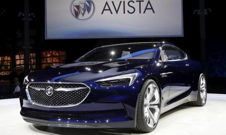 2017 Buick Avista Specs
