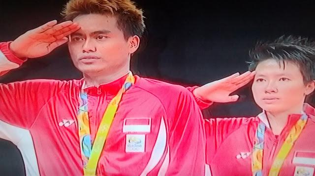 Emas Olimpiade Rio 2016 Kado Manis HUT RI Ke-71, Di Sumbangkan Oleh Tontowi Ahmad/Liliyana Natsir