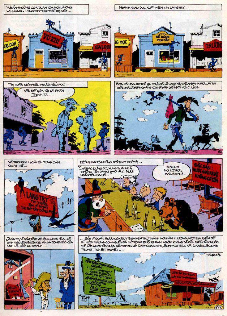 Lucky Luke tập 21 - sợi dây biết hát trang 44