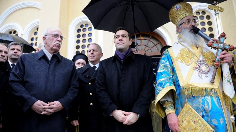 Με λαμπρότητα και παρουσία Τσίπρα ο εορτασμός των Θεοφανείων στην Αλεξανδρούπολη