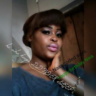 Happy Birthday Bae,Its Miss Chidera Birthday.