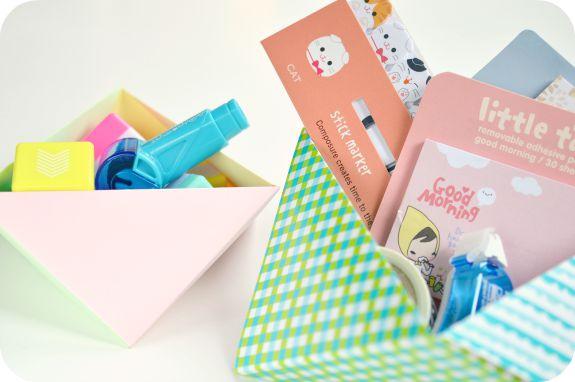 Cuencos Origami de Niña Bonita